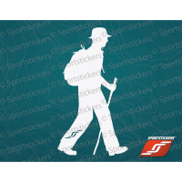 Sportstickers Day Hiker, White