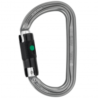 Petzl Am'd Asymmetrical Aluminum Carabiner, Ball Lock