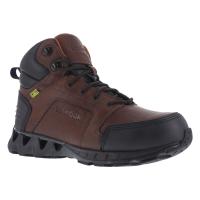 Reebok Work Men's Zigkick Carbon Toe Hiking Boots, Dark Brown, Wide