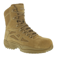 Reebok Work Men's Rapid Response 8Inch Rb Composite Toe Work Boots, Coyote