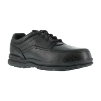 Rockport Works Men's World Tour Steel Toe Esd Shoes, Extra Wide