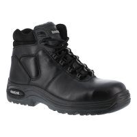 Reebok Work Men's Trainex Composite Toe 6Inch Work Boots, Black, Extra Wide