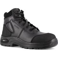 Reebok Work Men's Trainex Composite Toe 6Inch Work Boots, Black, Medium Width