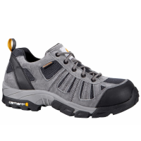 Carhartt Men's Lightweight Low-Rise Non Safety Toe Work Hiker Boots, Grey/navy