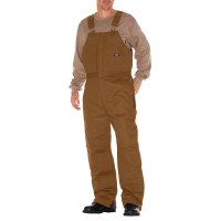 Dickies Men's Duck Insulated Bib Overall