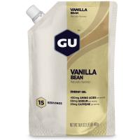 GU ENERGY Vanilla Bean Gel, 15-Serving Pouch