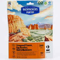 Backpacker's Pantry Beef Stroganoff With Wild Mushrooms, 2 Servings