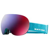 Native Eyewear Backbowl Goggles, Tundra - Snowtuned Rose Blue