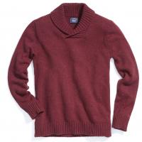 G.h. Bass & Co. Men's Donegal Shawl Collar Sweater