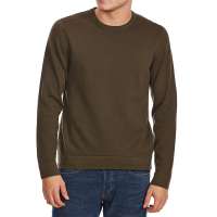 G.h. Bass & Co. Men's Long-Sleeve Crew Sweater With Elbow Patches