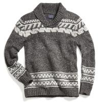 G.h. Bass & Co. Men's Cowichan Shawl Long-Sleeve Sweater