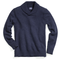 G.h. Bass & Co. Men's Donegal Shawl Collar Sweater