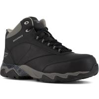 Reebok Work Men's Beamer Composite Toe Waterproof Athletic Hiker, Black/grey