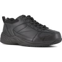 Reebok Work Men's Jorie Soft Toe Street Sport Jogger Oxford Sneaker, Black