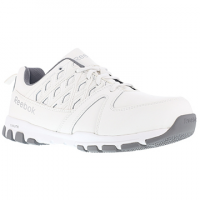 Reebok Work Men's Sublite Work Steel Toe Athletic Oxford Sneaker, White