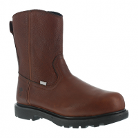 Iron Age Men's Hauler Composite Toe 10 In. Wellington Flex-Met Boots, Brown