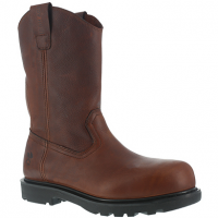 Iron Age Men's Hauler Composite Toe 11 In. Wellington Boots, Brown