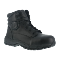 Iron Age Men's Ground Finish Steel Toe 6 In. Sport Boots, Black