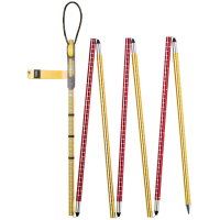 Pieps Probe Aluminum 300 Probe, Red/yellow