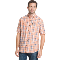 G.h. Bass & Co. Men's Medium Plaid Explorer Sportsman Short-Sleeve Shirt