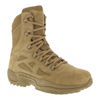 """Reebok Work Men's Rapid Response Rb Soft Toe Stealth 8"""" Tactical Boot, Coyote"""