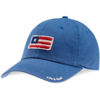 Life Is Good Men's Flag Tattered Chill Cap