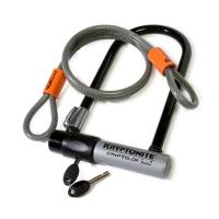 Kryptonite Kryptolock Std U-Lock/cable-Lock Combo