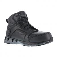 """Reebok Work Men's Zigkick Work Composite Toe Athletic 6"""" Boot, Black"""