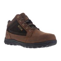 Rockport Works Men's Trail Technique Steel Toe Trail Hiker Boots, Brown, Wide