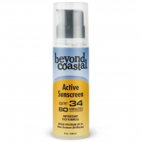 Beyond Coastal 8 Oz. Spf 34 Active Pump Sunscreen