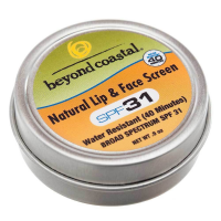 Beyond Coastal 0.9 Oz. Spf 31 Natural Lip & Face Sunscreen