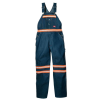 Dickies Men's Enhanced Visibility Denim Bib Overalls (Non Ansi)