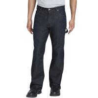 Dickies Men's Flex Relaxed Fit Straight-Leg Carpenter Tough Max Denim Jeans
