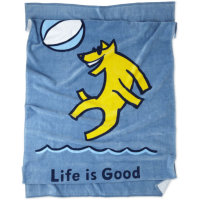 Life Is Good Beach Ball Rocket Beach Towel