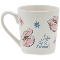 Life Is Good Flip Flop Toss Everyday Mug