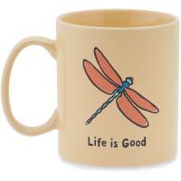 Life Is Good Dragonfly Jakes Mug
