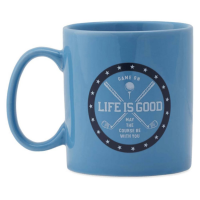 Life Is Good Golf Game On Jake's Mug