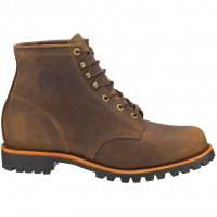Chippewa Men's 6 In. Apache Boots, Chocolate, Wide Width