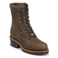 Chippewa Men's 8 In. Apache Utility Steel Toe Logger Boots