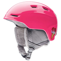 Smith Girls' Zoom Snow Helmet, Pink