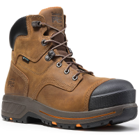 Timberland Pro Men's 6 In. Helix Hd Waterproof Composite Toe Work Boots, Distressed Brown
