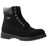 Lugz Men's 6 In. Convoy Water-Resistant Durabrush Work Boots, Black