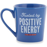 Life Is Good Positive Fuel Everyday Mug
