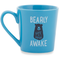 Life Is Good Sleepy Bear Everyday Mug