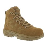 Reebok Work Men's Rapid Response Rb Composite Toe Work Boots, Coyote, Wide