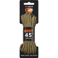 Sof Sole Waxed 45 In. Laces, Light Brown