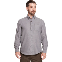 G.h. Bass & Co. Men's Jaspe Solid Long-Sleeve Flannel Shirt