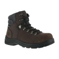 Iron Age Men's Tiller Composite Toe 6 In. Plain Toe Waterproof Hiking Shoes, Brown