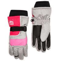 Nolan Girls' Color-Blocked Ski Gloves