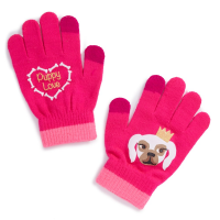 Nolan Girls' Puppy Love Mittens